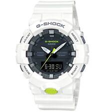Casio G-Shock GA-800SC-7A Black White Standard Analog Digital Men's Sports Watch