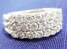 ($5,350) LEO 2.12 CTW CERTIFIED Diamond Anniversary Band Ring 14K White Gold