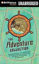 The Adventure Collection: Treasure Island, the Jungle Book, Gulliver's Travels, White Fang, the Merry Adventures of Robin Hood by Jonathan Swift (CD-Audio, 2013)
