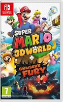 SUPER MARIO 3D WORLDS & BOWSERS FURY - NINTENDO SWITCH - BRAND NEW & SEALED