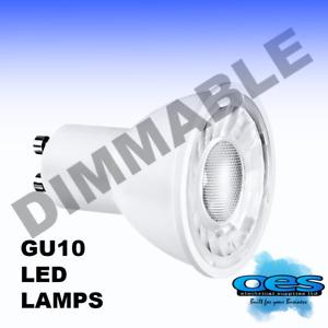AURORA ENLITE EN-DGU005/30 5 WATT GU10 LED 500 LUMENS WARM WHITE 3000K DIMMABLE