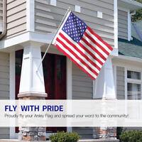 3'x 5' FT American Flag U.S.A U.S. United States Stripes Stars Brass Grommets US