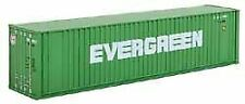 WALTHERS SCENEMASTER N SCALE 40' HC RIB SIDE CONTAINER EVERGREEN 949-8802