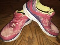 Women's Vionic 335 Elation 1.0 Athletic Running Shoes Size 10 Pink Yellow