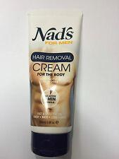 Nad's For Men Hair Removal Cream 6.8 oz (200 ml)  !! HOT ITEM !!!!