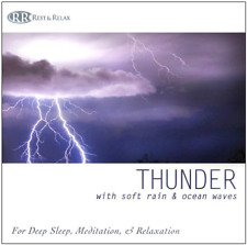 Rest & Relax Nature Sounds ...-Thunder: With Soft Rain & Ocean Waves for  CD NEW