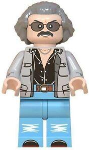 Stan Lee Marvel Comic Writer Avengers Iron Man Endgame Custom Lego Mini Figure