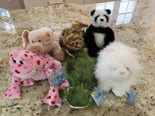 WEBKINZ  6 : LOVE FROG, GECKO, PERSIAN CAT, FLOPPY PIG, PANDA, LEOPARD LIZARD