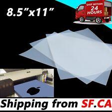 8.5 x 11, Premium waterproof instant dry inkjet Transparency film,25 sheets