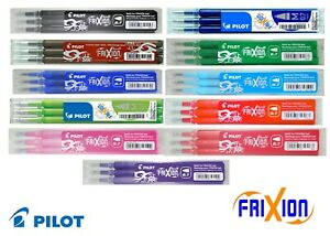 Pilot Frixion 0.7mm Ink Refills for Frixion Pens - Three Pack - [Frixion_Refill]