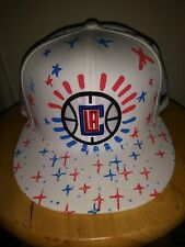 LA Hat NBA Los Angeles Clippers New Era Write On 9FIFTY White Snapback Cap USA