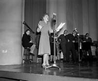 OLD CBS RADIO TV PHOTO Betty Hutton in the program The Pursuit of Happiness