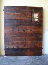 porta antica chiodata rustica larice antico riproduzione su misura portone