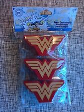 DC Comics Wonder Woman Treat Container 3 ct Birthday Easter Party Favor