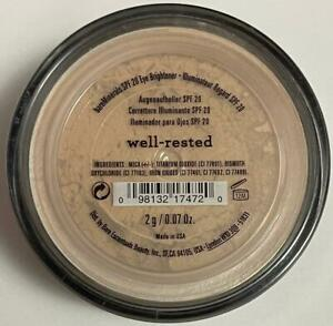 bare Minerals Concealer Well-Rested 2g Face Color Full Size Click Lock Go NEW
