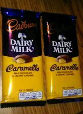 (2) Cadbury Dairy Milk Chocolate Bars* Caramello Milk Chocolate (Best by 12/2020