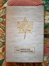 World Coin Bar 2013 25. Jubileum Marple Leaf, WCB Collection mit Box + COA