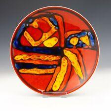 """Poole Pottery - Delphis Studio 8"""" Plate - Retro 1960's!"""