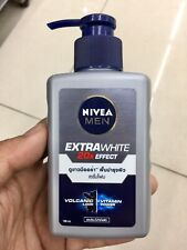 Nivea Men Extra White Oil Control Mud Foam Face Wash Whitening Skin 100ml
