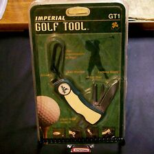 Schrade GT1 Knife Golfing Tool Ireland Made 1980's W/Unopened Clam Pack Rare