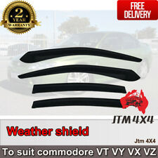 Weather Shield Window Visors weathershield Holden Commodore VT VY VX VZ 1997-07