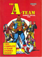 THE A-TEAM SUMMER SPECIAL - MARVEL 1985 FIRST EDITION - SOFTCOVER  - EXCELLENT