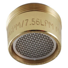 "LDR 530 2110PB 15/16"" X 27 Polished Brass Male/Female Faucet Aerator for Standar"