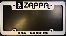 ZAPPA license plate frame - ZAPPA IS GOD