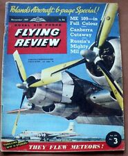 VINTAGE ROYAL AIR FORCE FLYING REVIEW NOVEMBER 1959 SOPHISTACATED SUB-HUNTER
