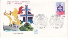 Enveloppe 1er jour FDC n°969 - 1976 : France Libre
