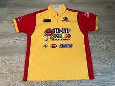 Kyle Busch NASCAR Race Used Pit Crew Shirt 2XL 2019 M&Ms