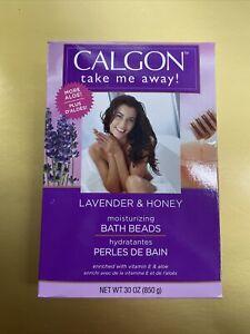 Calgon Ultra-Moisturizing Bath Beads, Lavender - Honey 30 oz💯💯💯🔥🔥🔥👌👌
