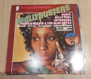 VARIOUS - PHILLYBUSTERS LP PIR 65869 PHILADELPHIA INTERNATIONAL 1974 VG++!
