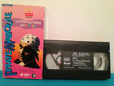 Le pirate maboule video 2 VHS Tape & sleeve FRENCH Mcdonalds print