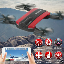 JXD 523W Altitude Hold HD Camera WIFI FPV RC Quadcopter Drone Selfie Foldable