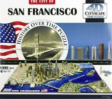 4D CityScape - History Over Time Puzzle -  SAN FRANCISCO 1000pce