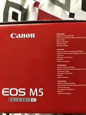 canon EOS M5 With Original Ef-m Adapter