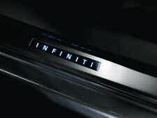 New OEM Infiniti Q40 Sedan Illuminated Kick Plates