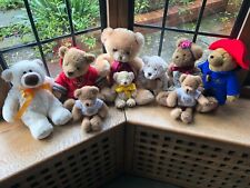 Paddington Bear and other bears soft toy bundle