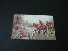 Hunting postcard, Faulkner & Co Series 973