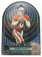 2019 Panini Obsidian Tunnel Vision Electric Etch 38/50 Steve Young HOF NFL