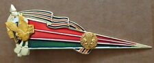 Russian ARMY  VDV   flag beret   long 5 inches BADGE pin   #69 sasa