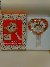 Betty Boop Bed Of Roses Mini Hand Mirror #10750  2005 NIB