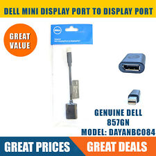 Dell DisplayPort (Female) to Mini-DisplayPort (Male) Dongle Adapter Cable 857GN
