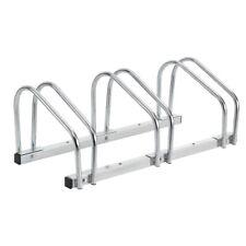 Soporte Múltiple Galvanizado Suelo/Montaje en la Pared Bicicletas 3