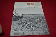 Case Tractor 5000 WC Chisel Plow Dealer's Brochure YABE14