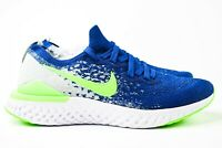 Nike Epic React Flyknit 2 GS Womens Size 8.5 Shoes CK1689 400 (7Y)