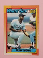 1990 Topps Frank Thomas Chicago White Sox #414 Baseball Card NM-MT Set Break HOF