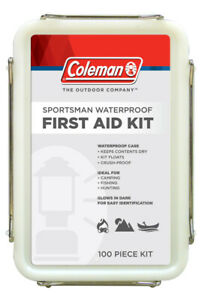 Coleman Floating Waterproof First Aid Kit for Camping Fishing & Hunting 7609 NEW