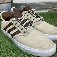 UK11 Adidas SEELEY Premiere Classified SB Shoes - Comfort Skateboard Trainers